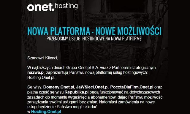 onet-hosting