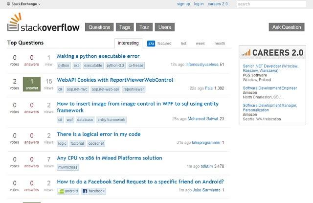 Strona główna - StackOverflow.com